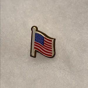 Flag Lapel Tack Pin